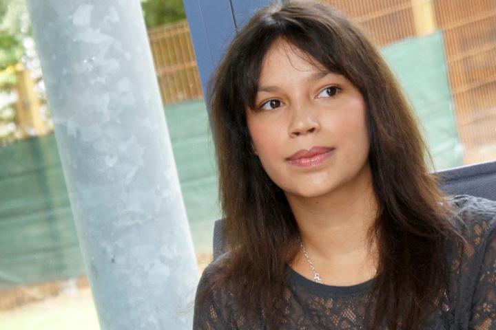 Heult sie sich durch den Dschungel? Ex-GNTM-Kandidatin Gisele Oppermann (30).