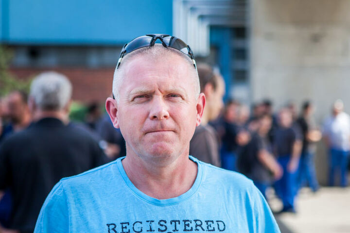 Halberg-Betriebsratschef Thomas Jürs weist den Vorwurf der Sabotage zurück.