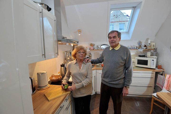 Karla und Hermann Brümmer haben bereits eine Wohnung in einem betreuten Wohnprojekt der Heim gGmbH.