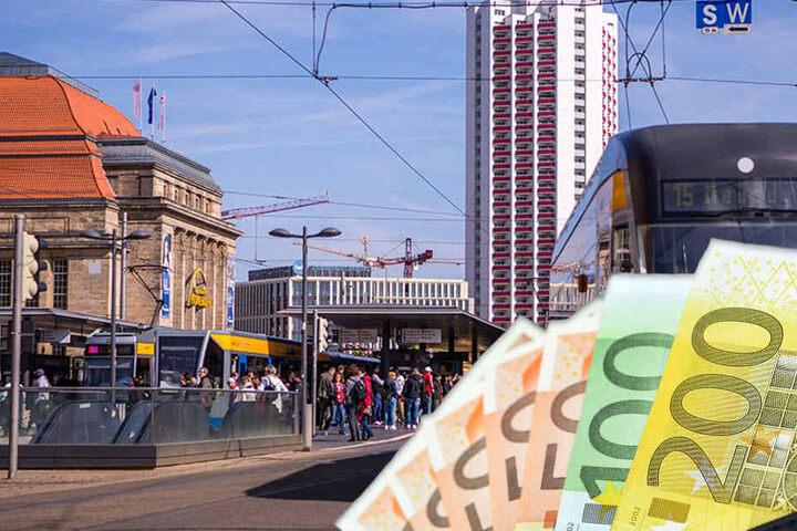 Die neue Mobilität wird die Stadt Leipzig etwa eine Milliarde Euro kosten.