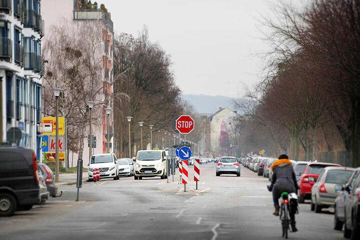 Am Unfallschwerpunkt Dürerstraße entsteht ein Kreisverkehr.