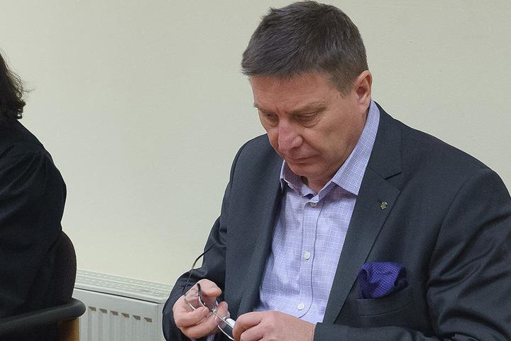 Äußert sich erstmals öffentlich zum Familiendrama: Mario Pecher (55), Zwickauer Landtagsabgeordneter der SPD.