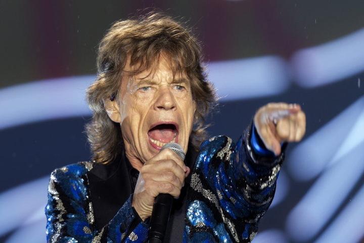 Stones Sänger Mick Jagger.