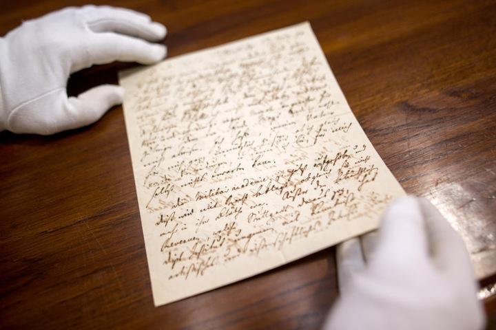 Dieser Brief von Friedrich Schiller könnte mehr als 20.000 Euro bringen.