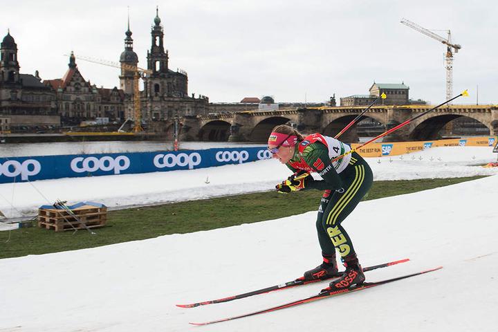 Antonia Fräbel startet für Deutschland beim Langlauf-Weltcup an diesem Wochenende in Dresden. Solche Events helfen auch den Wirten.