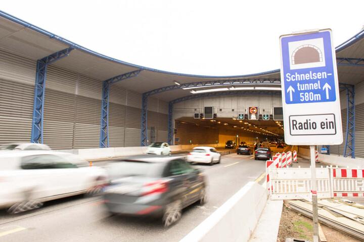 Im Juni wurde der erste A7-Lärmschutztunnel in Schnelsen für den Verkehr freigegeben.