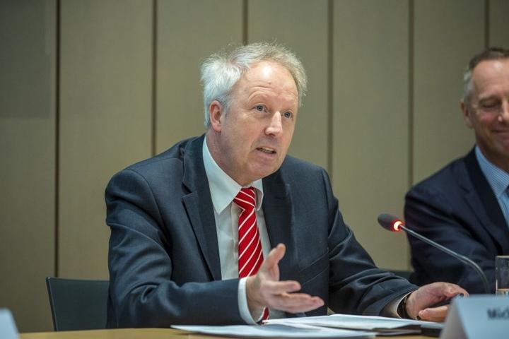 Der Chef des Ostdeutschen Sparkassenverbandes, Michael Ermrich.