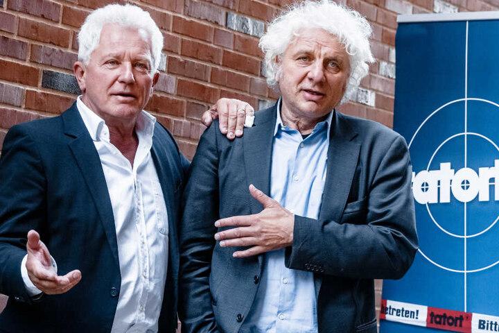 Udo Wachtveitl (r.) und Miroslav Nemec (l.) sind als Ermittler-Duo unterwegs.