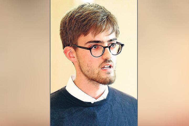 Der Stadtrat Hendrik Stalmann-Fischer (SPD) setzt sich für das Narrenhäusel ein.