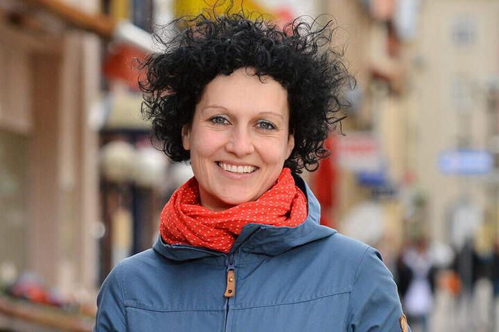 Stadtteilmanagerin Nadine Wollrad (37).