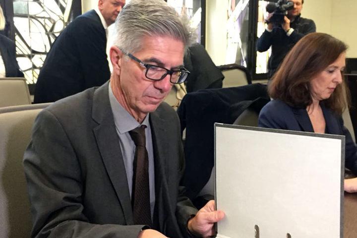 Am 34. Prozesstag ging es unter anderem um das Gutachten zu Wilfried W. von Psychiater Michael Osterheider.