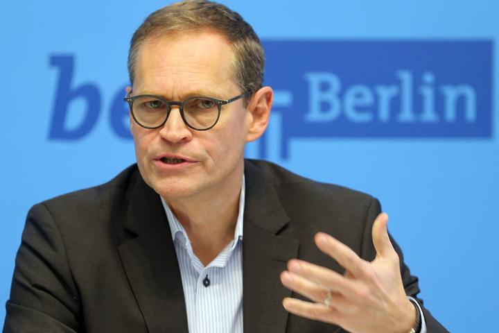 """Berlin sei eine Stadt, die funktioniere, sagte Michael Müller: """"In einigen Punkten noch nicht gut genug aber sie funktioniert."""""""