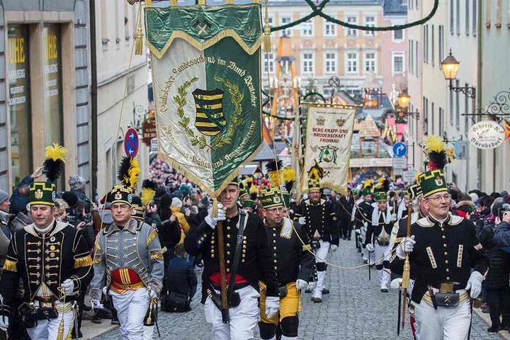 Bergmannsparade.