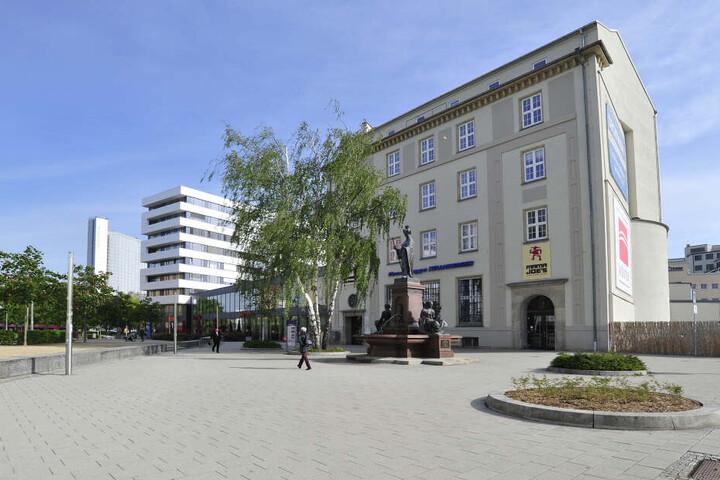 Der Johannisplatz: Frühere Gastronomen gingen hier baden. Doch die Ratsstube soll ein Erfolg werden.