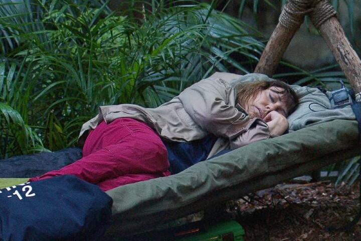Wie immer: Schwachstelle Tina York ist eingeschlafen.