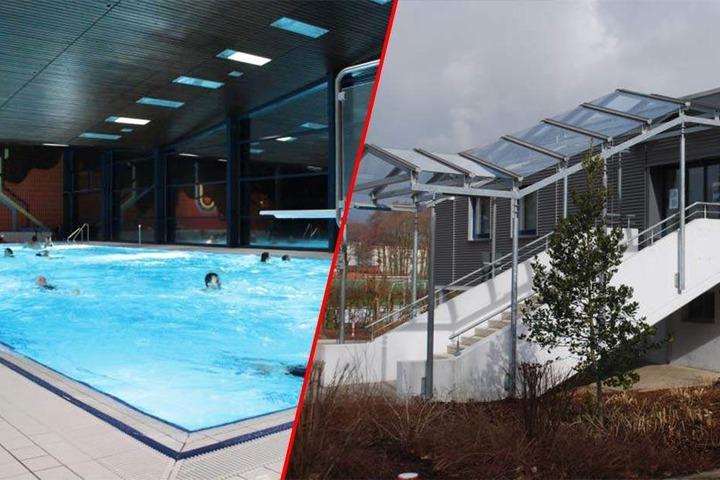 Das Gartenhallenbad in Enger wird am Wochenende richtig aufgeheizt.