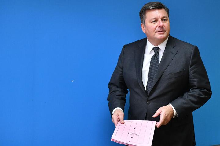 Andreas Geisel stellte im Herbst 2018 einen Fünf-Punkte-Plan gegen Clan-Kriminalität vor.
