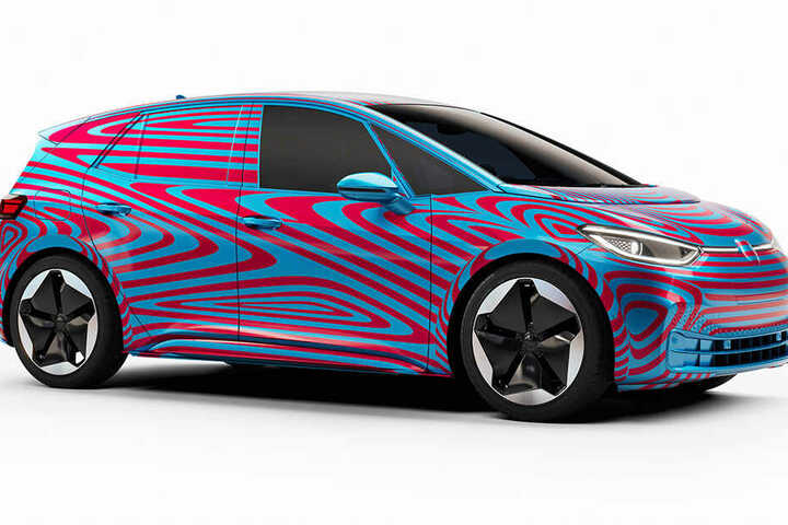 So sieht ein E-Auto aus, das in Zwickau zukünftig produziert wird.