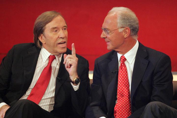 Günter Netzer und Franz Beckenbauer kennen sich schon viele Jahre.