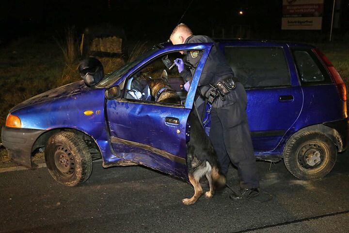 Die Polizei ermittelt jetzt, warum der Fiatfahrer vor der Polizeikontrolle flüchtete.