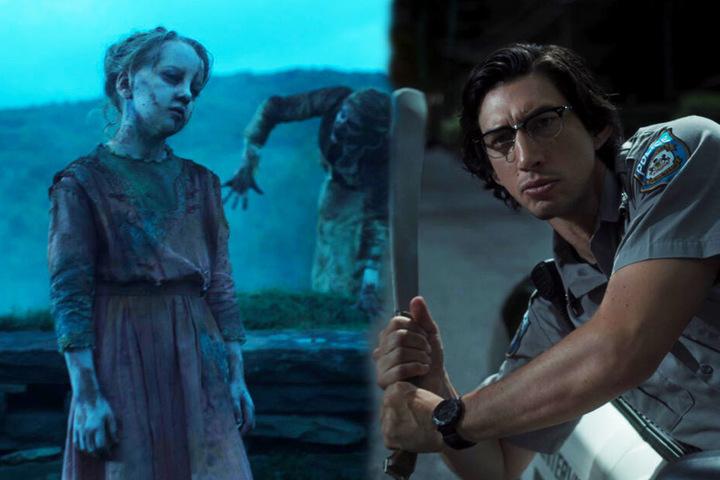 Ronald Peterson (Adam Driver) hat seine eigene Methode, um sich die Zombies vom Hals zu schaffen. (Bildmontage)