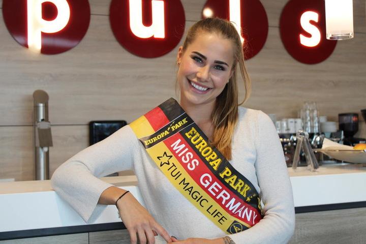 Am 24. Februar wurde die 23-Jährige zur schönsten Frau Deutschlands gekürt.