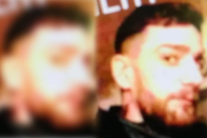 Der 29-jährige Tatverdächtige soll keinen festen Wohnsitz haben.