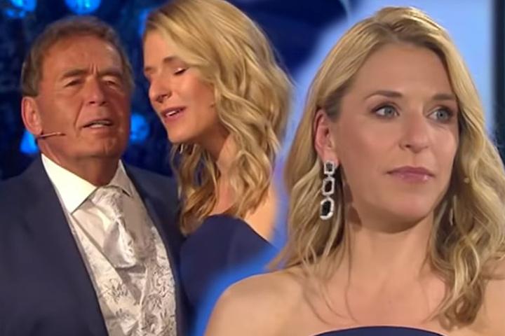 In der Muttertags-Show gab es viele emotionale Momente für Stefanie Hertel.