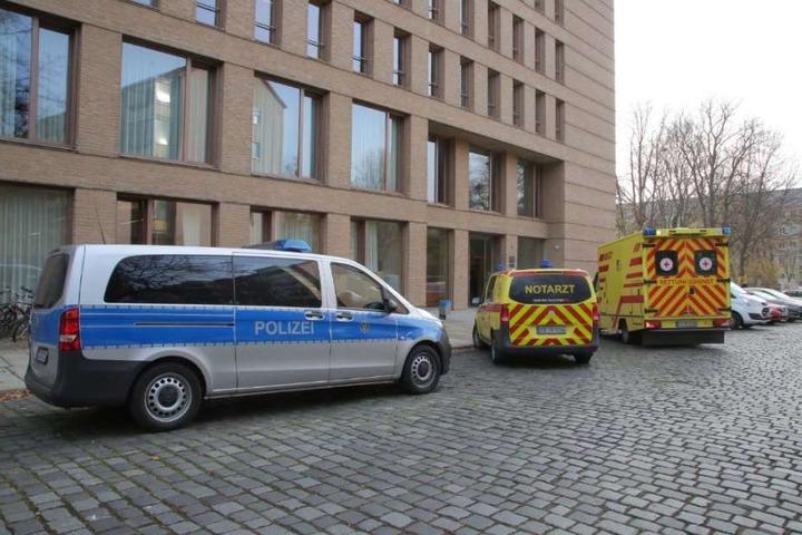 Polizei und Krankenwagen waren vor Ort.
