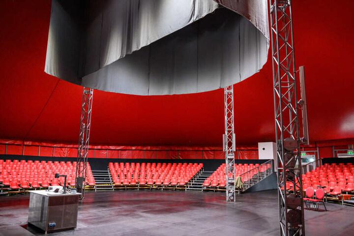 """Der neue """"Hörsaal"""" ist komplett ausgestattet."""