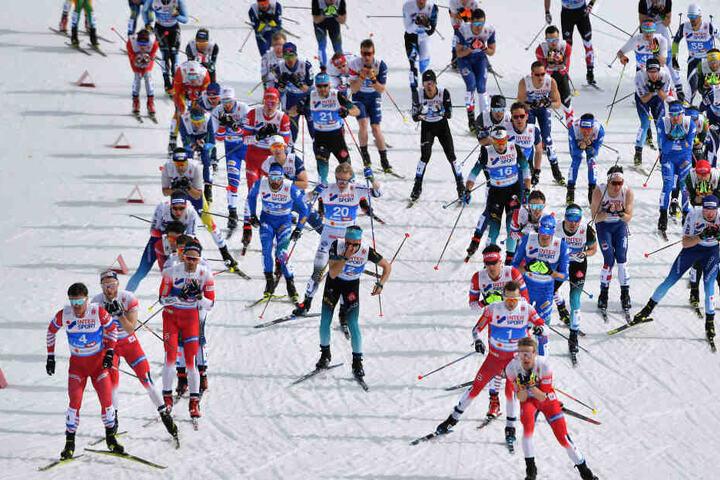 Die Nordische Ski-WM in Österreich wurde von einem Doping-Skandal überschattet.
