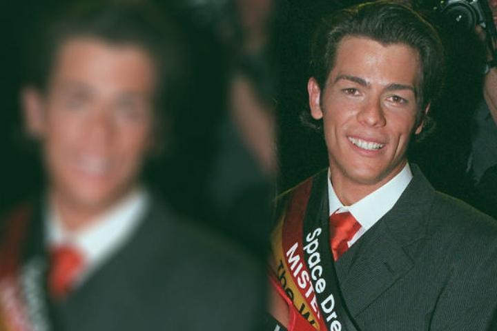 """Adrian Ursache wurde 1998 zum """"Mister Germany"""" gewählt."""