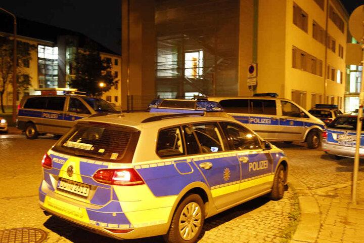 In der Einrichtung am Thüringer Weg geriet vergangene Nacht ein Tunesier mit einem anderen Bewohner in Streit.