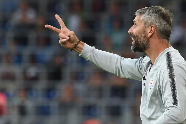 Würde von seinem offensiven Spielstil gut zur TSG passen: Red-Bull-Salzburg-Coach Marco Rose. (Symbolbild)