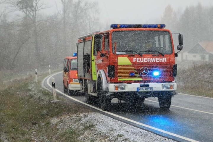 In ganz Thüringen mussten die Einsatzkräfte zu mehreren Unfällen raus fahren.