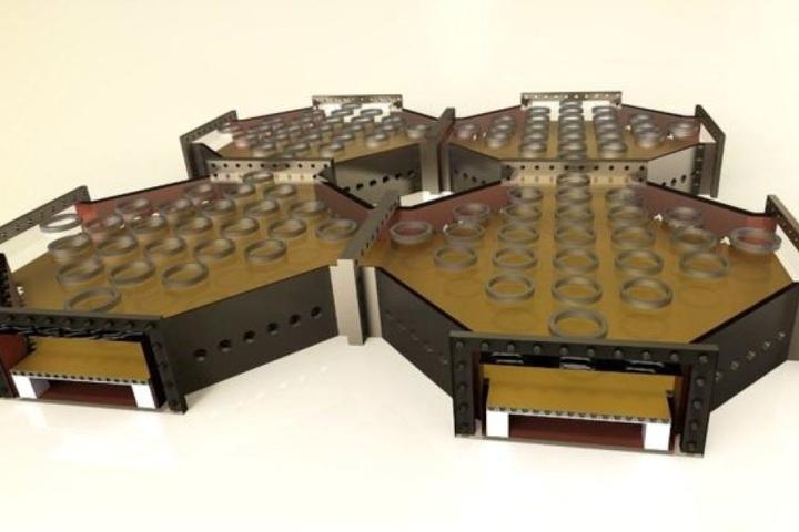 """So sehen die Module des """"Quanten-Computers"""" aus."""