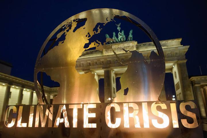 Mit dem Protest sollte auf die drohenden Folgen der Klimakrise aufmerksam gemacht werden.
