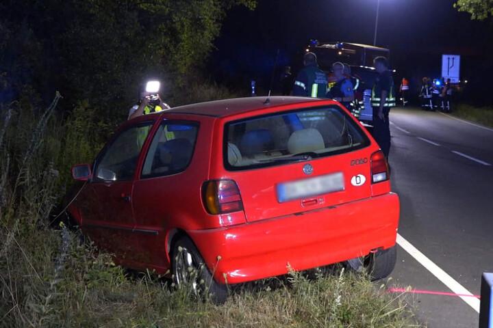 Das Auto des Ehepaars stieß wiederum gegen einen VW Polo.
