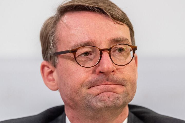 Innenminister Roland Wöller spricht am Freitag mit dem Verein auch über Ideen über eine zukünftige Nutzung des Senders.