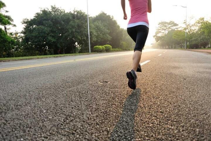 Eigentlich wollte die Frau nur joggen. (Symbolbild)