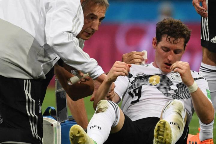 Sebastian Rudy musste gegen Schweden in der 31. Minute ausgewechselt werden.
