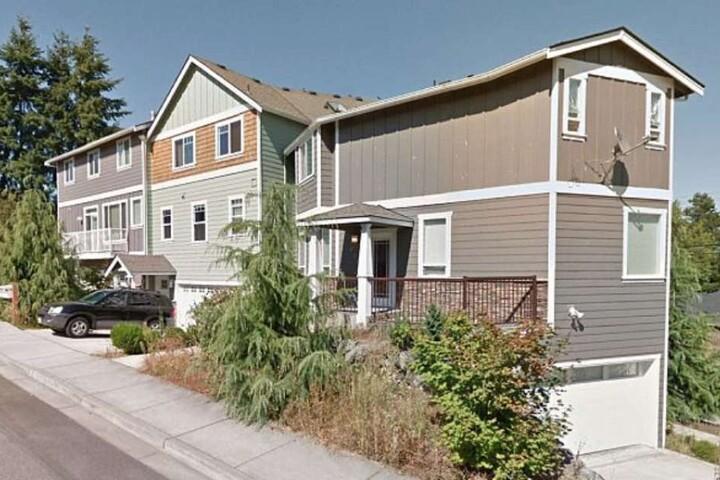 In diesem Haus in North Everett spielte sich ein Blutbad ab.