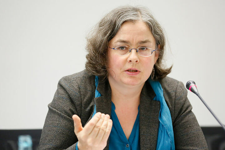 Dresdens Umweltbürgermeisterin Eva Jähnigen (Grüne) musste gestern die gescheiterten Ziele bekanntgeben.