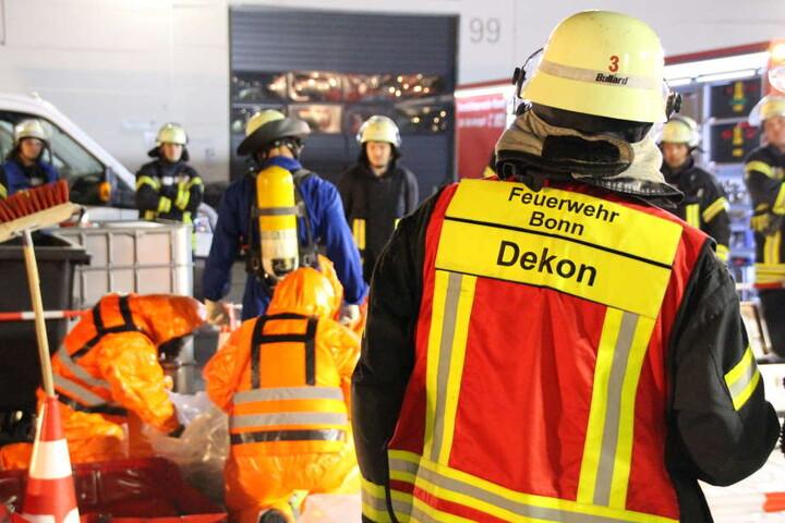 Etwa 70 Kräfte der Feuerwehr waren in Bonn-Beuel im Einsatz.