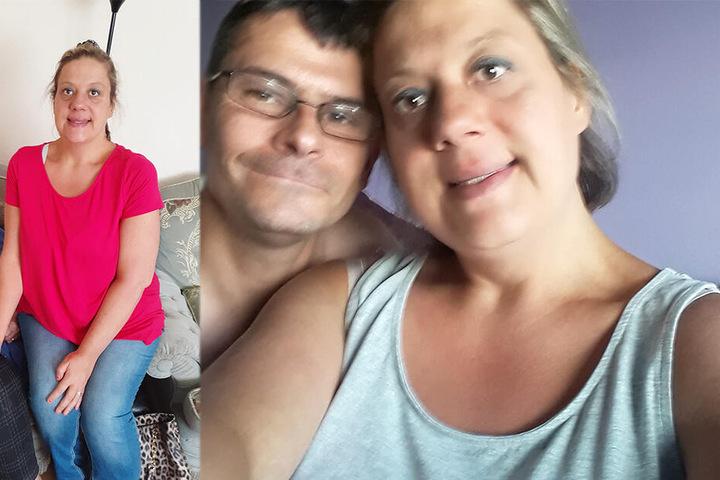 Gewicht fast halbiert: Karina Dunford (35) und ihr Mann Ian blicken hoffnungsvoll in die Zukunft.