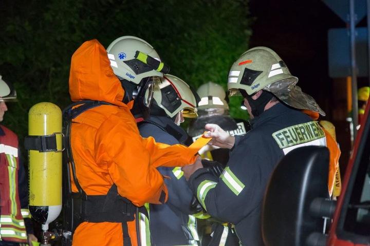 Im Einsatz waren 77 Kameraden der Freiwilligen Feuerwehren aus Zwönitz und Umgebung.