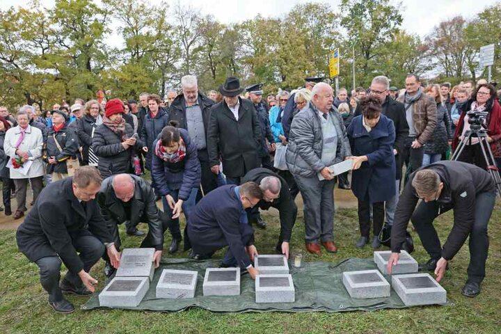 Am Sonntag wurde der neue Gedenkort in Zwickau eingeweiht.