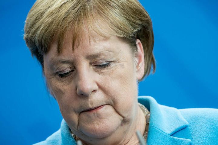 Merkel zu Zitteranfall: