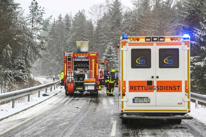 Für den einen Fahrer kam jeder Hilfe zu spät.