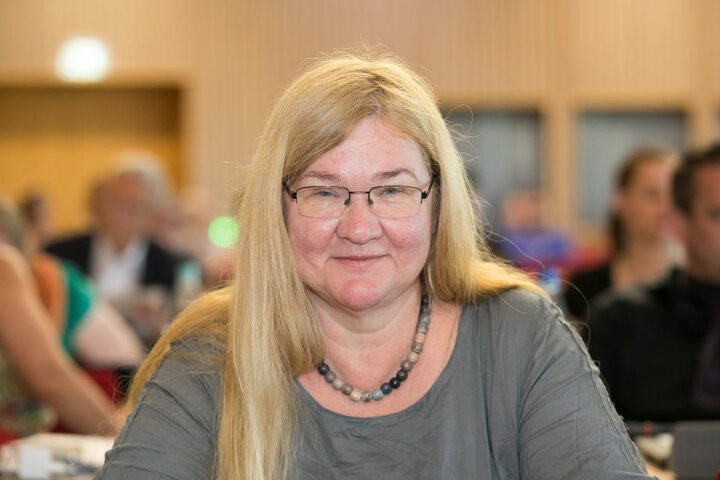 Stadträtin Anja Apel (57, Die Linke).